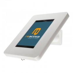 Soporte para tablet de sobremesa y pared en color blanco