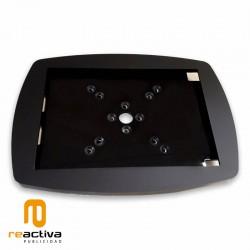Suport per a tablet per paret i sobretaula en color negre
