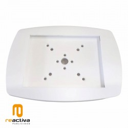 Soporte para tablet para pared y sobremesa en color blanco