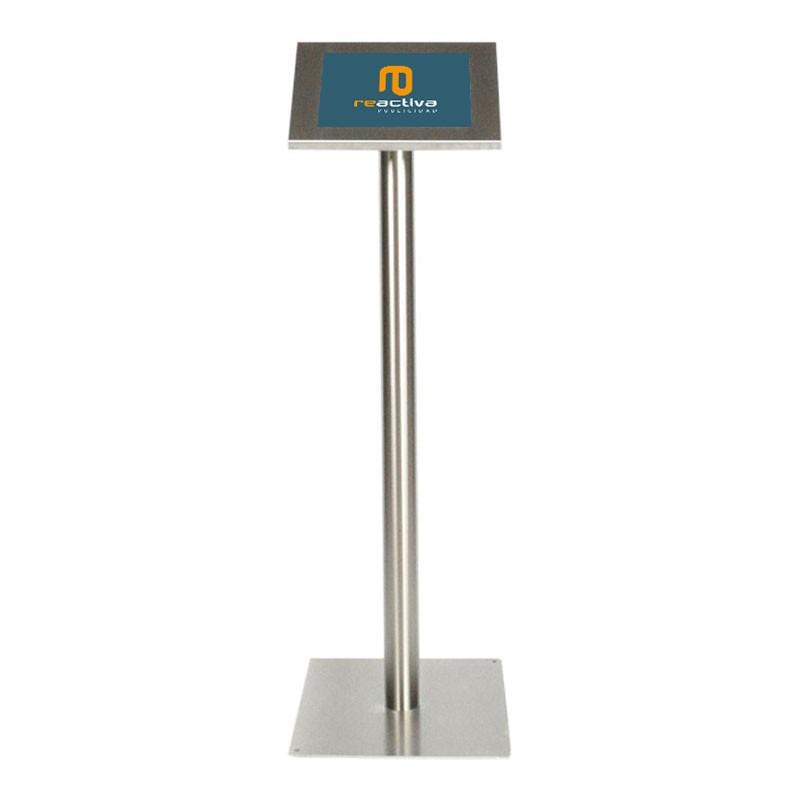 suport per tablet universal de peu en acer inoxidable