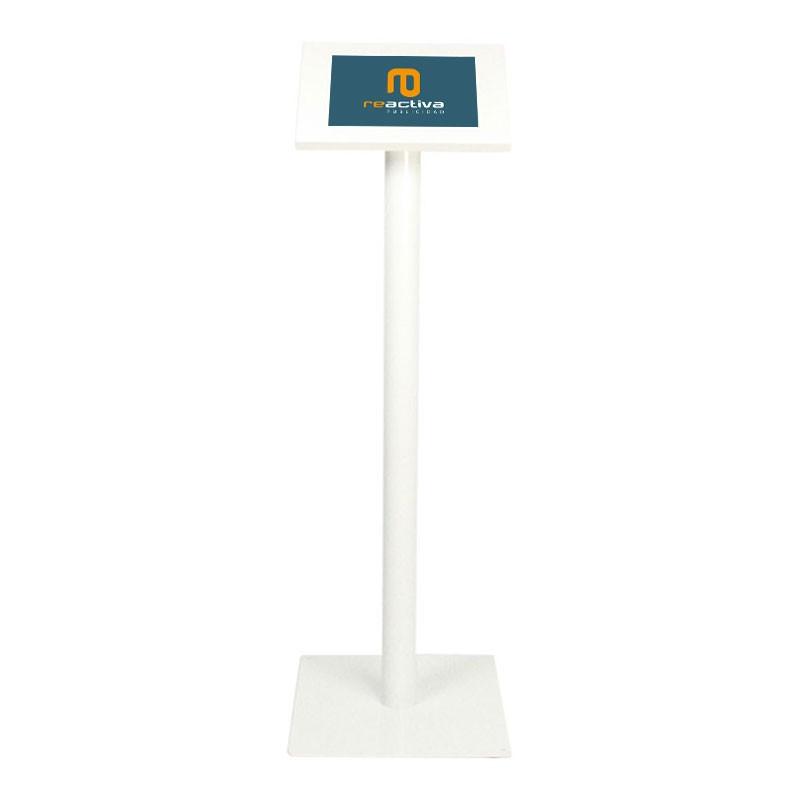 soporte para tablet universal de pie en blanco
