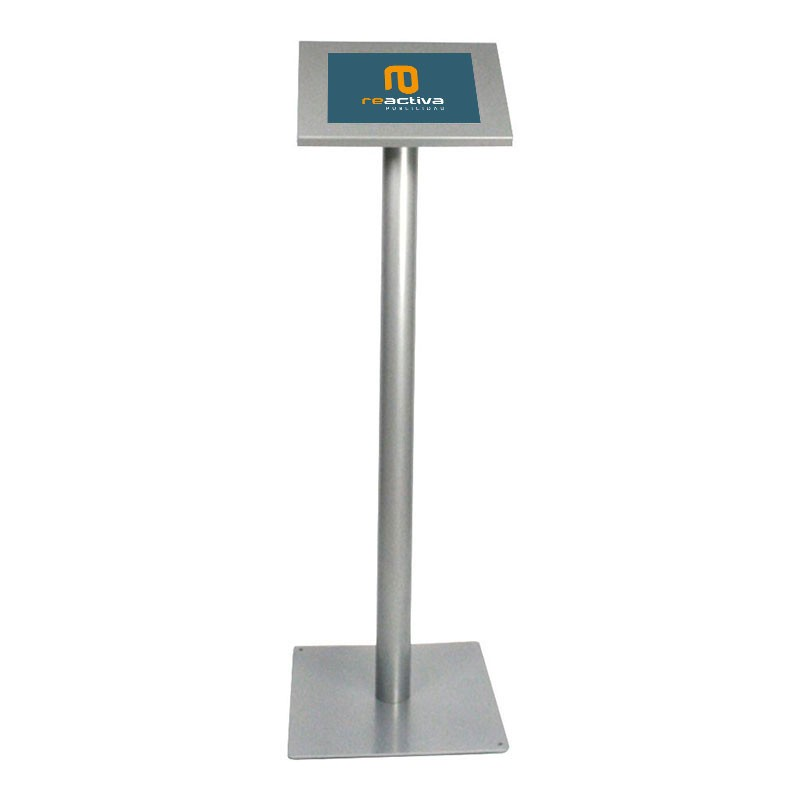 suport per tablet universal de peu en gris