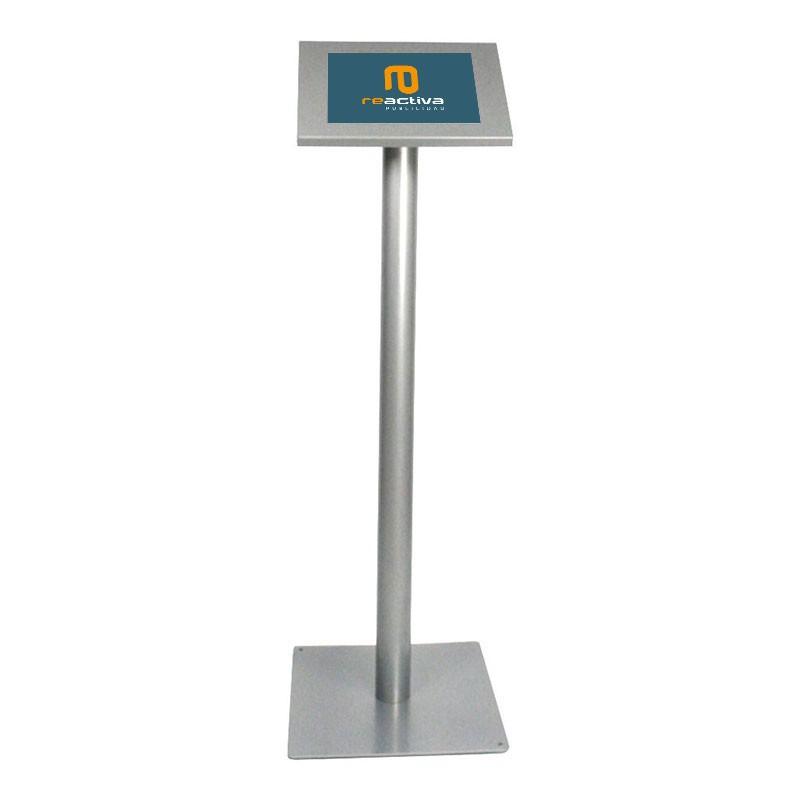 soporte para tablet universal de pie en gris