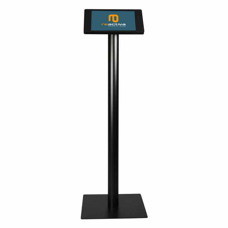 soporte para tablet universal de pie en negro