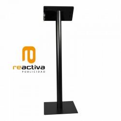 suport per tablet universal de peu en negre