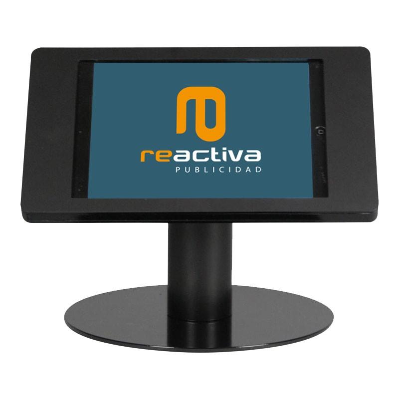suport per tablet de sobretaula en negre