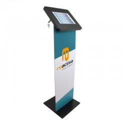 panel display para soportes de pie en color negro