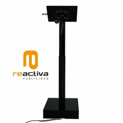 soporte para tablet elevator negro dorsal