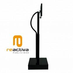 soporte para tablet elevator negro perfil