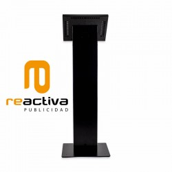 Columna VESA model Light amb caixa Universal Metàl·lica negra