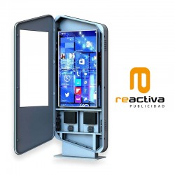 Kiosco interactivo para comunicación digital modelo Sydney Interactive