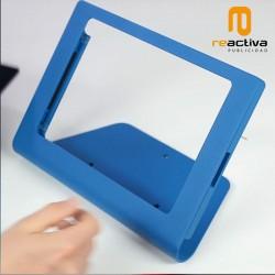 Soporte de sobremesa para tablets modelo Leggero en color azul