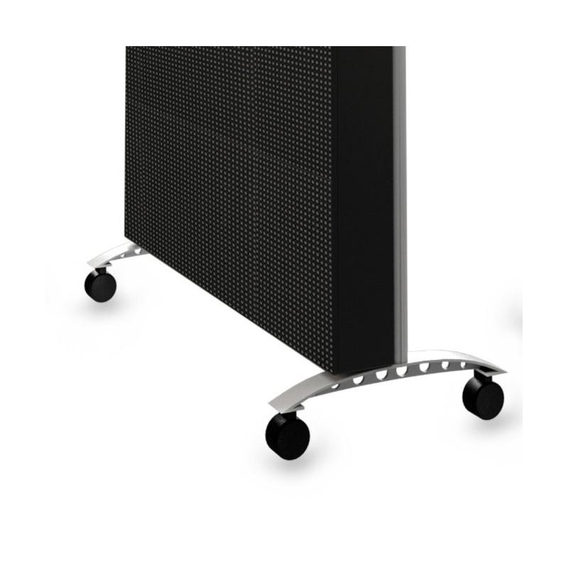 Patas con ruedas para rótulos electrónicos