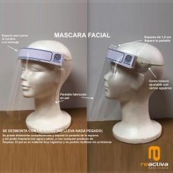 Máscara de protección anticontagios