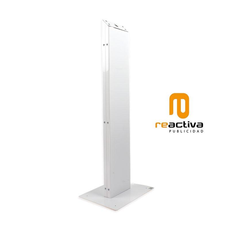 soporte VESA de pie modelo longo blanco