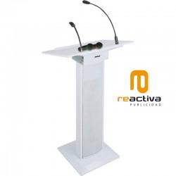 Faristol model Activa per a conferències en color blanc