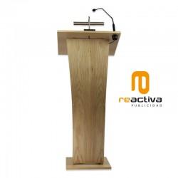 Atril modelo Ribera, fabricado en madera contrachapada