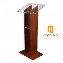 Faristol Model Zafiro, fabricat en fusta i material acrílic