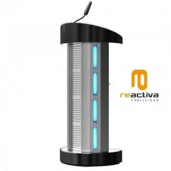 Faristol LED model Teas metàl·lic