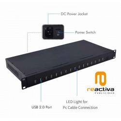 Estación de carga de 16 puertos USB