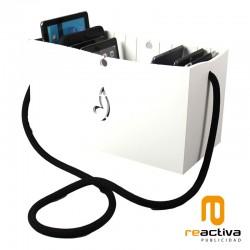 Contenedor de recarga para 10 tablets modelo Canasta