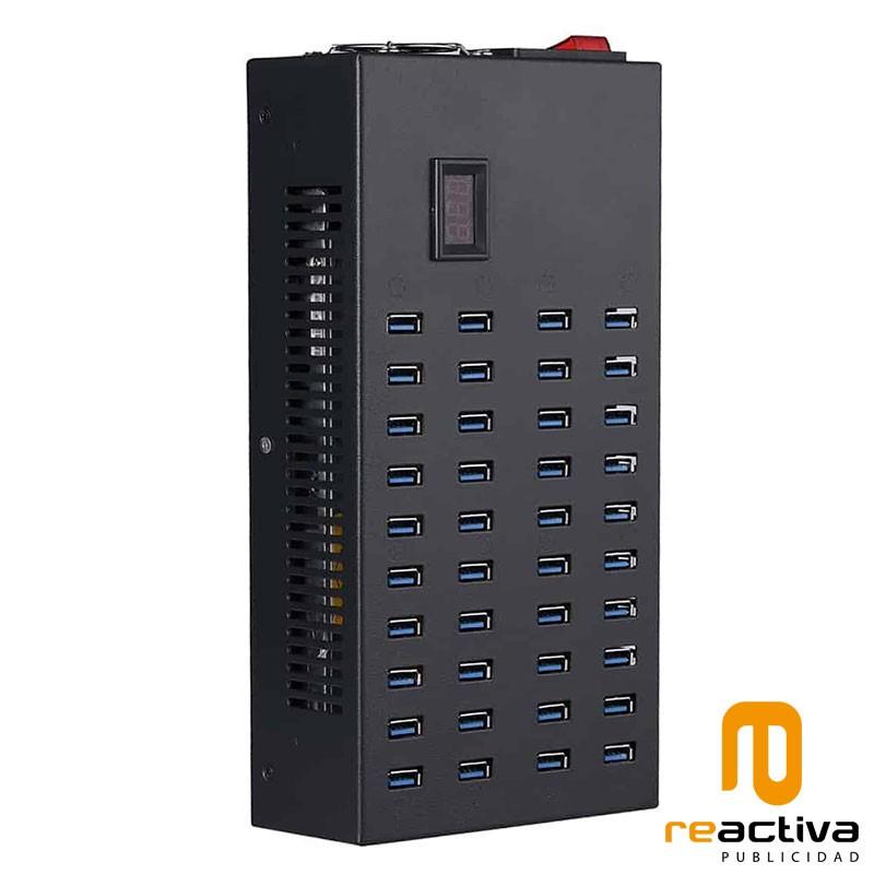 Centro de carga USB de 40 puertos