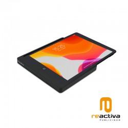 """Soporte lateral de pared para iPad y Samsung de 10.2"""" USB-A"""