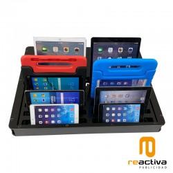 Base de carga universal USB-A para dispositivos de 10 a 16 pulgadas
