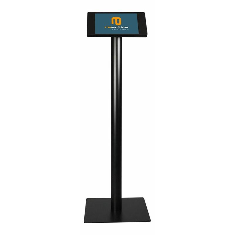 Soporte para tablet de pie modelo light negro