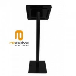 Soporte para tablet de pie modelo media negro