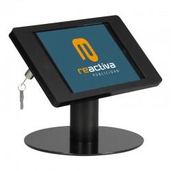 Soporte para tablet de sobremesa en color negro