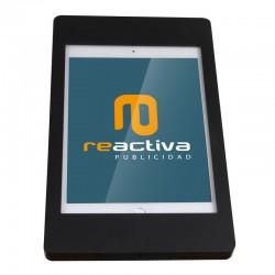 Suport per tablet de sobretaula en color negre