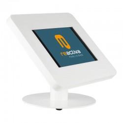 suport per tablet de sobretaula en blanc