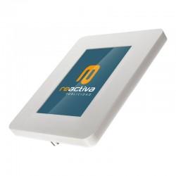 soporte para tablet de sobremesa en blanco
