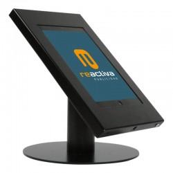 Suport per tablet de sobretaula metàl·lic en negre