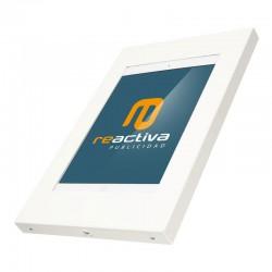 Suport per tablet de sobretaula metàl·lic en blanc