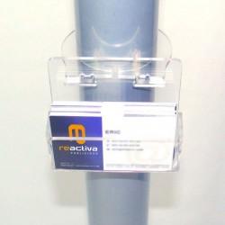dispensador de targetes per a suports per a tablet de peu