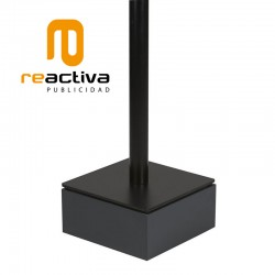 tarima elevadora de suports de peu en color negre