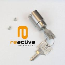 cerradura de seguridad con llave para soportes universales para tablet