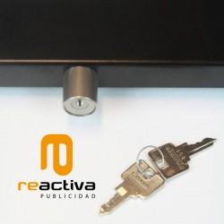 pany de seguretat amb clau per a suports universals per tablet