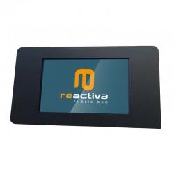 suport per tablet de paret en color negre
