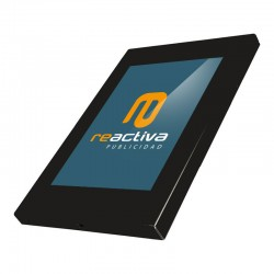 carcassa per tablet model universal metàl·lic en negre