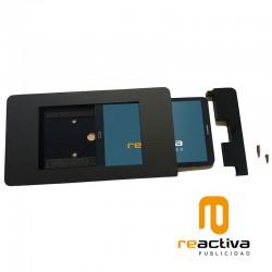 soporte para tablet de pared en color negro