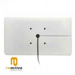 soporte para tablet de pared en color blanco