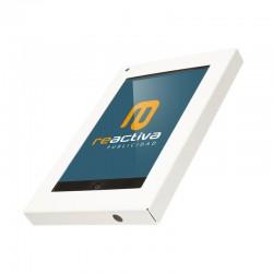 soporte universal para tablet de pared en color blanco
