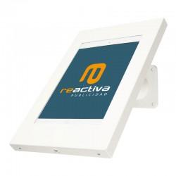 Suport universal metàl·lic per tablet de sobretaula i paret en color blanc