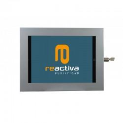 Suport universal metàl·lic per tablet de sobretaula i paret en color gris