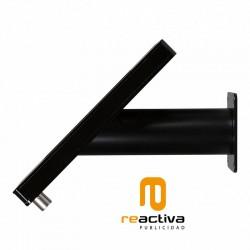 suport per tablet de sobretaula i paret en color negre